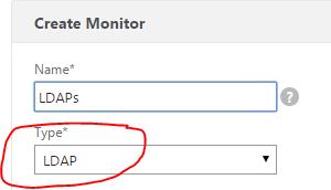 Netscaler 11 and 12 – LDAPs (Secure LDAP) Monitoring   Peter