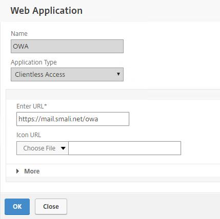 Netscaler UnifiedGateway – OWA SSO (Clientless Access