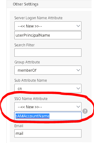 to acheive this you need to reconfigure your upn authentication profile by defining the sso name attribute to samaccountname